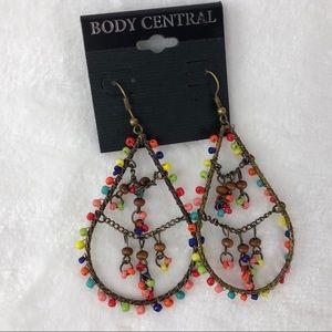 Body Central Boho Dangle Drop Earrings NEW